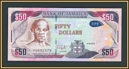 Jamaica 50 Dollars 2015 P-94 (94b) UNC - Jamaica