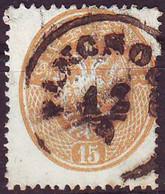 SRBIJA - K.u.K. AUSTRIA - DOPPELADLER - Mi. 28 Used PANČEVO  PANCSOVA - 1863 - Serbia