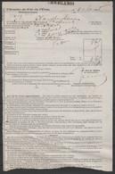 Chemins De Fer De L'Etat - Lettre De Voiture CHARLEROI 1878 (en Provenance De Malines) - Fragments & Covers