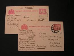 Bandong Karten Stuttgart 1911  Lot - Netherlands Indies