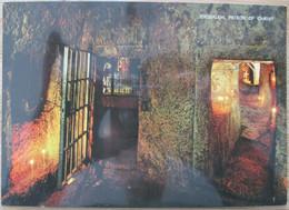 ISRAEL JERUSALEM OLD CITY CHRIST PRISION SITE ZION PICTURE POSTCARD CARTOLINA PHOTO POST CARD PC CPM - Israele
