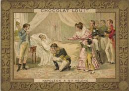 Chromo Chocolat LOUIT  NAPOLEON A Ste HELENE  RV - Stollwerck
