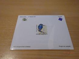 A.Buzin NA29 Ijsvogel - Proyectos No Adoptados