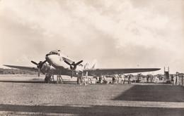 CPA - Aérodrome D'Abidjan ( Côte D'Ivoire ) - Douglas DC3 - Compagnie Air France - Aerodrome