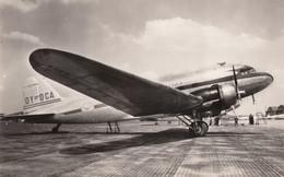 "CPA - Douglas DC 3 "" Arv Viking "" - Compagnie D.D.L ( Det Danske Luftfartselskab - Danemark ) - 1946-....: Modern Era"