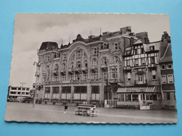 """ GRAND'Hotel ( Copyright Van Den Berge) Anno 19?? ( Zie Foto's ) Detail > Hotel Le SAVOY / Pub. Wiel's ! - Nieuwpoort"