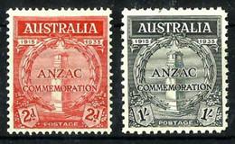 Australia Nº 100/1 Nuevo* Cat.75€ - Mint Stamps