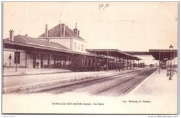 10 ROMILLY SUR SEINE - La Gare. - Romilly-sur-Seine