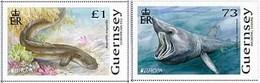 Pre Order Delivery 3-4 Weeks  Gurnsey 2021 MNH ** Europa 2021 - Endangered National Wildlife Set Of 2 - Guernsey