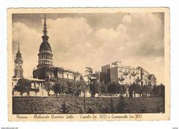 NOVARA:  BALUARDO  QUINTINO  SELLA  -  CUPOLA  E  CAMPANILE  -  FOTO  CARTA  CAMOSCIO  -  FG - Novara