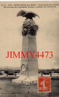 CPA - BOULOGNE-sur-MER En 1911 - Boulevard Ste-Beuve - Monument Du Capitaine Ferber, Victime De L'Aviation - N° E.S. 564 - Boulogne Sur Mer
