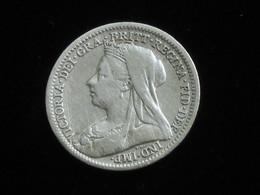 3 Pence 1901 VICTORIA  - Great Britain - Grande Bretagne ***** EN ACHAT IMMEDIAT ***** - F. 3 Pence