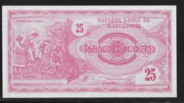 Macédoine - 25 Denar - Pick N°2 - NEUF - Macedonia