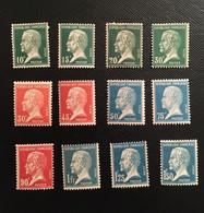 Timbres De France De 1923/26 N° 170 à 181 - Neufs COTE 190 Euros - Nuovi