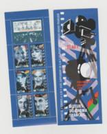 """FRANCE / 1998 / Y&T N° 3193 **, En Fait BC 3193 ** (Bande-carnet """"Acteurs Du Cinéma Français"""") X 1 - Commemoratives"""