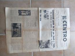 GIORNALE ROMA DEL 1 OTTOBRE 1965 TESO DI BENITO MUSSOLINI CRONACA SPORT OMAR SIVORI VISSUTO STRAPPI - Prime Edizioni