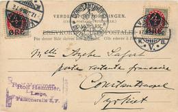 Allemagne - Bureau Turque - 3 C.P.A. 1903 Du Danmark Vers La Turquie  - Oblitérations '' Constantinople-Deutsche Post '' - Kantoren In Het Turkse Rijk