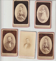 SILLI Photographe Nice Vichy 5 Photos Format Carte De Visite - Anciennes (Av. 1900)