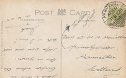 Ceylan Cachet Paquebot Aden Sur Carte 1925 - Ceylon (...-1947)
