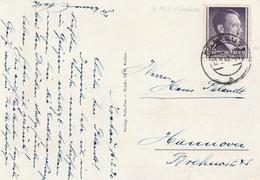 General Gouvernement Carte Krakau Pour L'Allemagne 1942 - Gobierno General