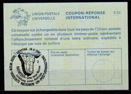 UNITED NATIONS VIENNA NAMIBIA ( SWA ) Eine Neue Nation 10.05.91 Int. Reply Coupon Reponse IRC IAS Antwortschein La25  2 - Namibia (1990- ...)
