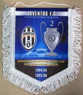 Pennant Juventus Torino Champions League UEFA Winner - Calcio