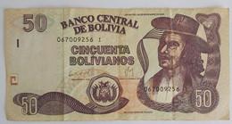 BILLET BOLIVIE 50 BOLIVIANOS 1987 - Bolivie