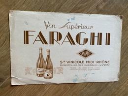 BUVARD VIN SUPERIEUR FARAGHI - Liquor & Beer