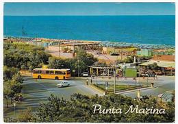 PUNTA MARINA - RAVENNA - ANNI '70 - BUS - AUTOBUS - PULLMAN - Ravenna