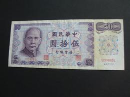 TAIWAN - 50 Yuan 1972  **** EN ACHAT IMMEDIAT ***** - Taiwan