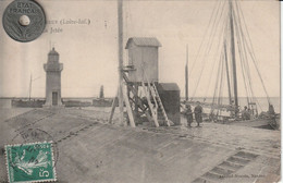 44 - Carte Postale Ancienne De Paimboeuf   La Jetée - Paimboeuf