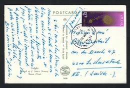 ISRAEL 1966:   CP Pour La Suisse - Covers & Documents