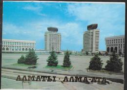 KAZAKISTAN - ALMA ATA - PIAZZA DELLA REPUBBLICA - NUOVA SENZA FORMULARIO - Kazakhstan