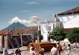 1949 FLOODS DISASTER VILLAGE GUATEMALA CENTRAL AMERICA 35mm SLIDE PHOTO FOTO M14 - Diapositives (slides)