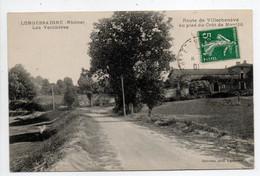 - CPA LONGESSAIGNE (69) - Les Verchères - Route De Villechenève Au Pied Du Crêt De Montlit - Photo Delorme - - Sonstige Gemeinden