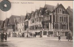 62 - Carte Postale Ancienne De  Berck Plage   Esplanade Maritime - Berck