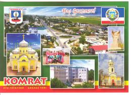 Moldova Moldavie  Gagauzia Comrat Coat Of Arms  Postcard - Moldavië
