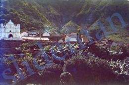 1949 FLOODS DISASTER IGLESIA GUATEMALA CENTRAL AMERICA 35mm SLIDE PHOTO FOTO M15 - Diapositives (slides)