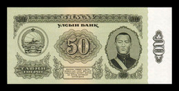 Mongolia 50 Tugrik 1966 Pick 40 SC UNC - Mongolia