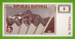 REPUBLIKA SLOVENIJA / SLOVENIE / PET TOLARJEV / 5 TOLARS - Slovenia