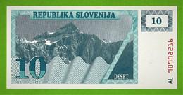 REPUBLIKA SLOVENIJA / SLOVENIE / DESET TOLARJEV / 10 TOLARS - Slovenia