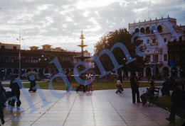 1949 STREET SCENE GUATEMALA CITY CENTRAL AMERICA 35mm SLIDE PHOTO FOTO M17 - Diapositives (slides)
