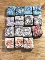 Bottes Anciennes: 1500 TP 72-73?, 91 Et 95(cachets, Nuances, Types, ..)(nombreux Timbres Défectueux) - Used Stamps