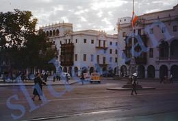 1949 CARS POLICE GUATEMALA CITY CENTRAL AMERICA 35mm SLIDE PHOTO FOTO M19 - Diapositives (slides)