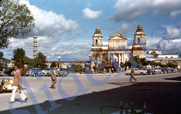 1949 CHURCH GUATEMALA CITY CENTRAL AMERICA 35mm SLIDE PHOTO FOTO M21 - Diapositives (slides)