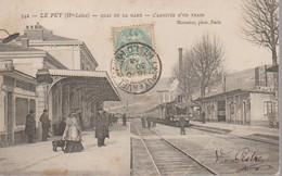 LE PUY EN VELAY -  LA GARE - Le Puy En Velay