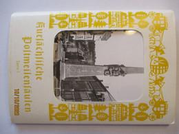 Sachsen Postmeilensäulen, 12 Karten Im Umschlag (44629) - Otros