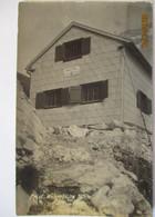 Welser Hütte, Hüttenstempel, Fotokarte 1930 (45451) - Otros