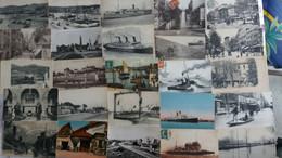 Lot De 100 Cpa Nombreuses Animations - Villes-villages-vues (9) - 100 - 499 Postcards