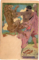 LESSIEUX - Art Nouveau - Hercule  (6820 ASO) - Lessieux